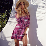 Pink Cherry Beach Dress