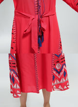 Retro Tassel Bohemian Dress