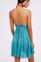 Backless Boho Holiday Dress