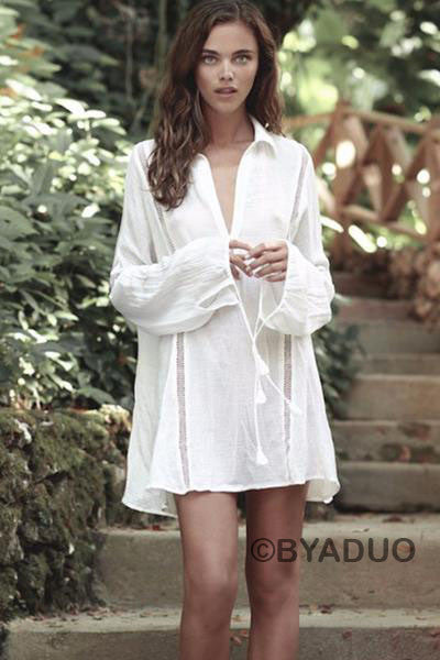 BALI VACATION SHIRT DRESS