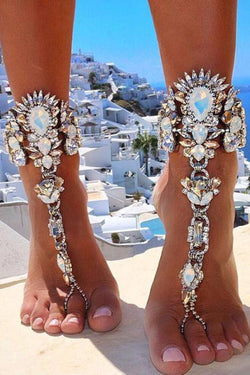 BEAUTIFUL FEET STATEMENT ANKLET