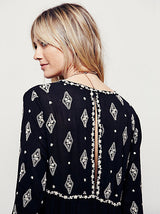 Diamond Embroidery Dress