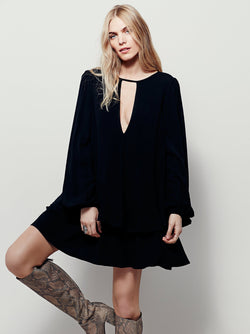 Bohemian Hook Casual Dress