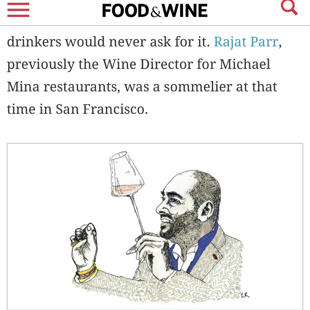 Drawings from DRINK PINK in FOOD&WINE Magazine