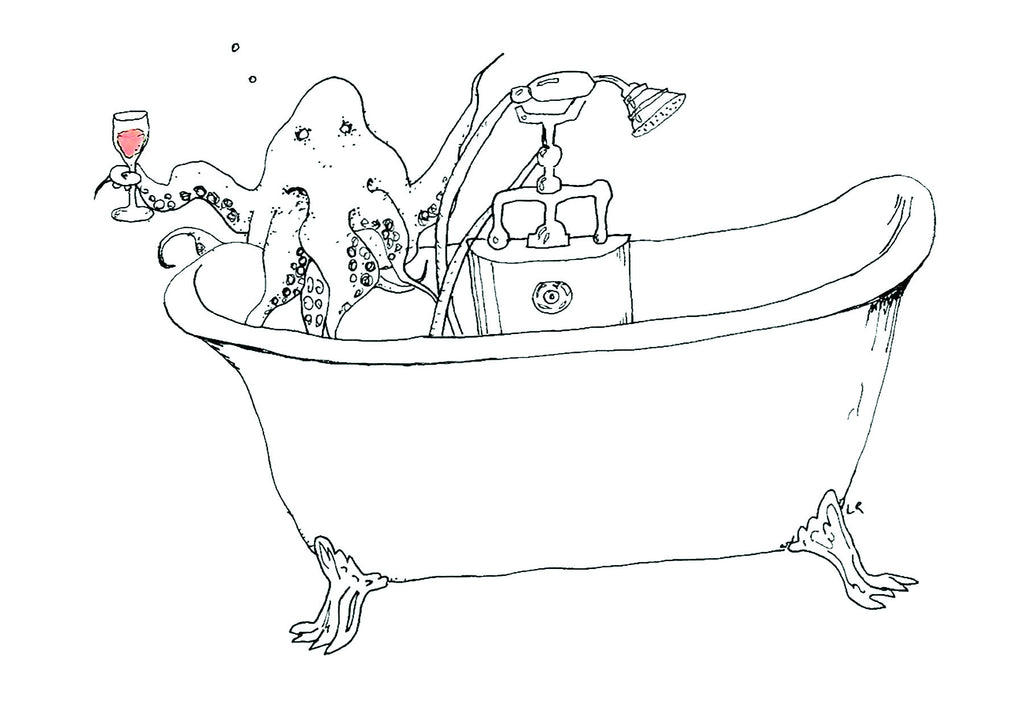 Octopus in the Bathtub