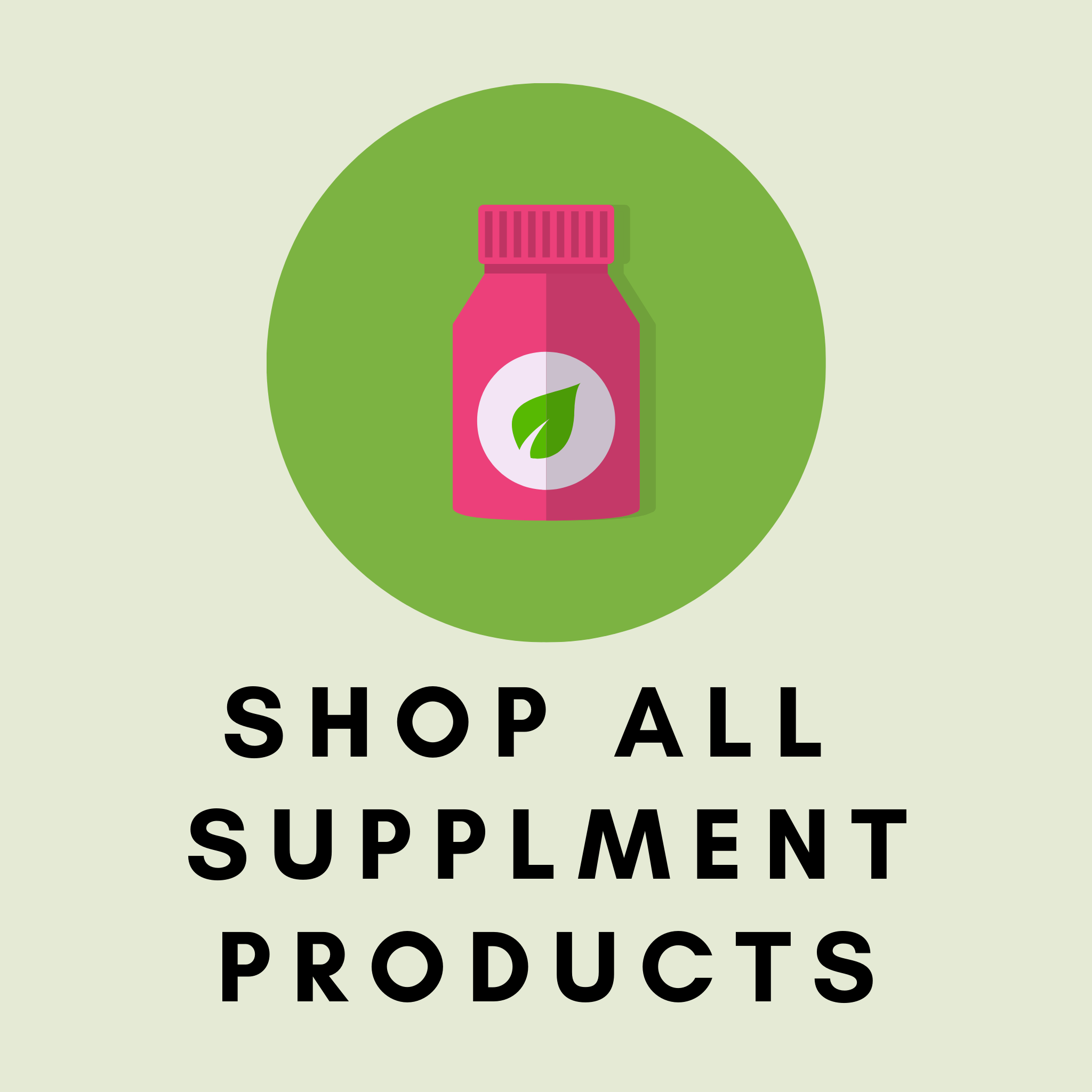 Pre-Order: Supplement Products