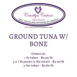 Pre-Order: Ground Tuna w/ Bone