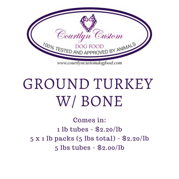 Pre-Order: Ground Turkey with Bone