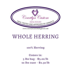 Pre-Order: Whole Herring