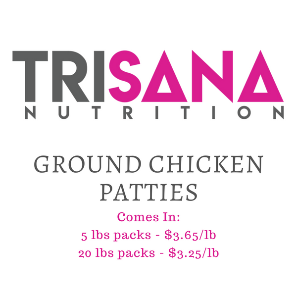 Pre-Order: Ground Chicken Patties