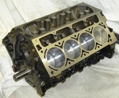 5.7L 348 Short Block,Short Block,Schwanke Engines LLC- Schwanke Engines LLC