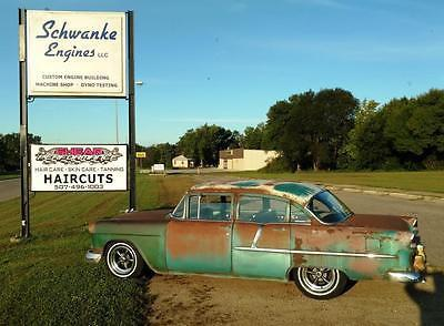 1955 Chevrolet 210 4 Door,car,Schwanke Engines, LLC- Schwanke Engines LLC