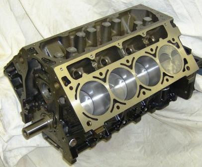 6.0L 408/415 Stroker Short Block,,Schwanke Engines- Schwanke Engines LLC