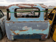 1948 3100 Multi Color Teal Chevy Truck Cab & Parts