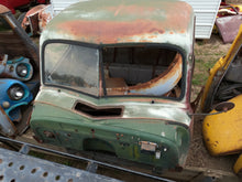 Red & Green Chevy Truck Cab & Parts