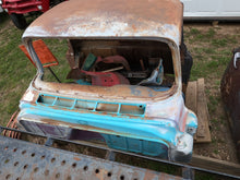 Bright Multi Color Chevy Truck Cab & Parts