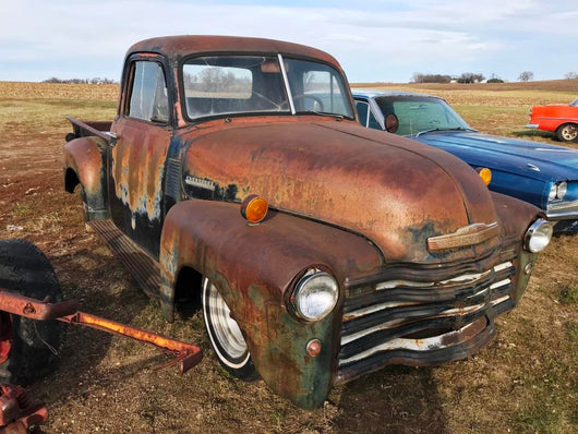 1951 Chevy 3-Window Truck,,Schwanke Engines LLC- Schwanke Engines LLC