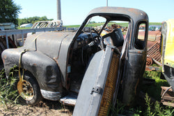 Rusted Black Chevy Truck,,Schwanke Engines LLC- Schwanke Engines LLC