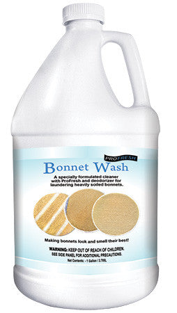 bonnet-wash with ProFresh