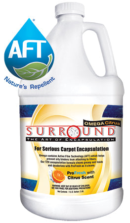 citrus carpet encapsulation detergent