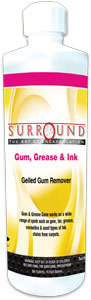 Surround Gum, Grease & Ink