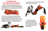Forest Safety Products Chainsaw Trauma Kit Loading Instructions Chainsaw Safety