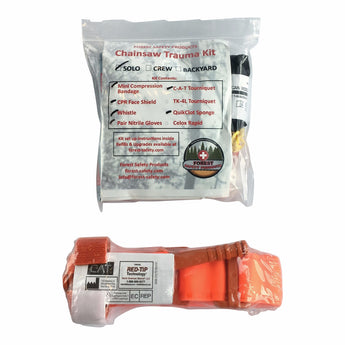 Solo Chainsaw Trauma Kit Refill Pack (No Case)
