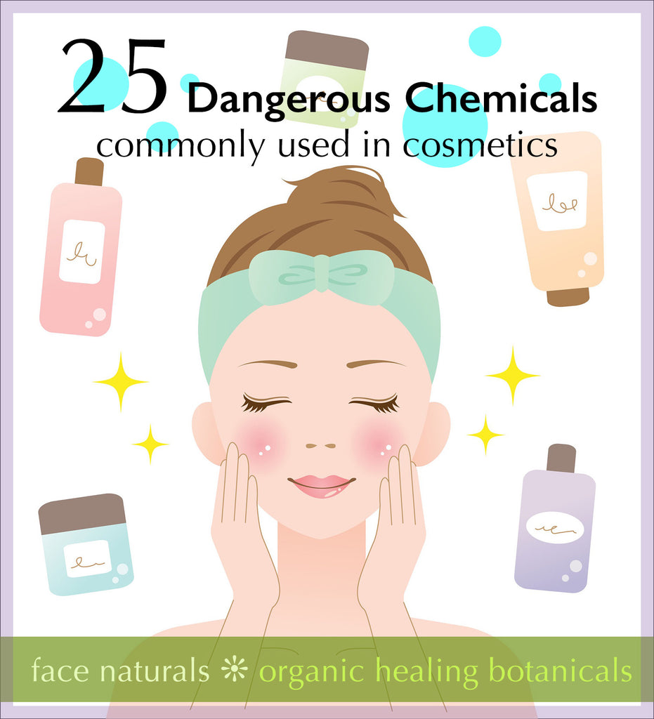 Toxic chemicals in skin care and cosmetics
