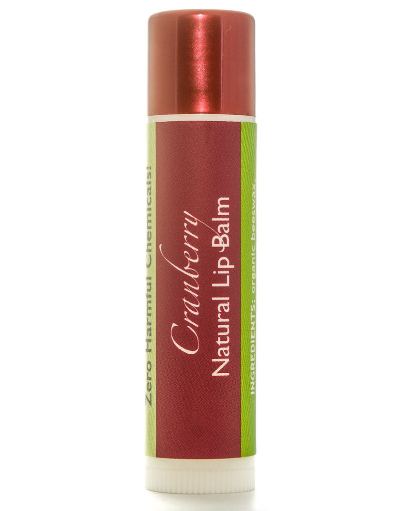 NEW! Cranberry Lip Balm
