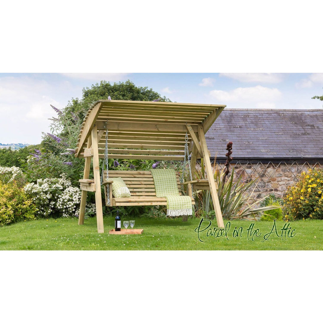 Parcel in the Attic Avilés 2 Seat Garden Swinging Chair