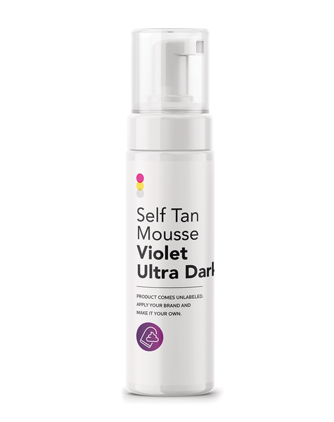 Self Tan Mousse Violet Ultra Dark