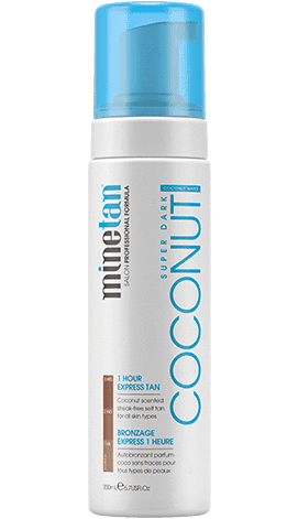 Coconut Water Self Tan Foam