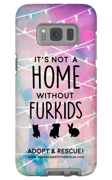 Samsung Galaxy S8 For the Love of Fur Babies Phone Case with Tough Rugged Protection