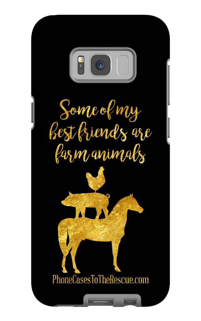Samsung Galaxy S8 Plus Best Friends Phone Case with Tough Rugged Protection