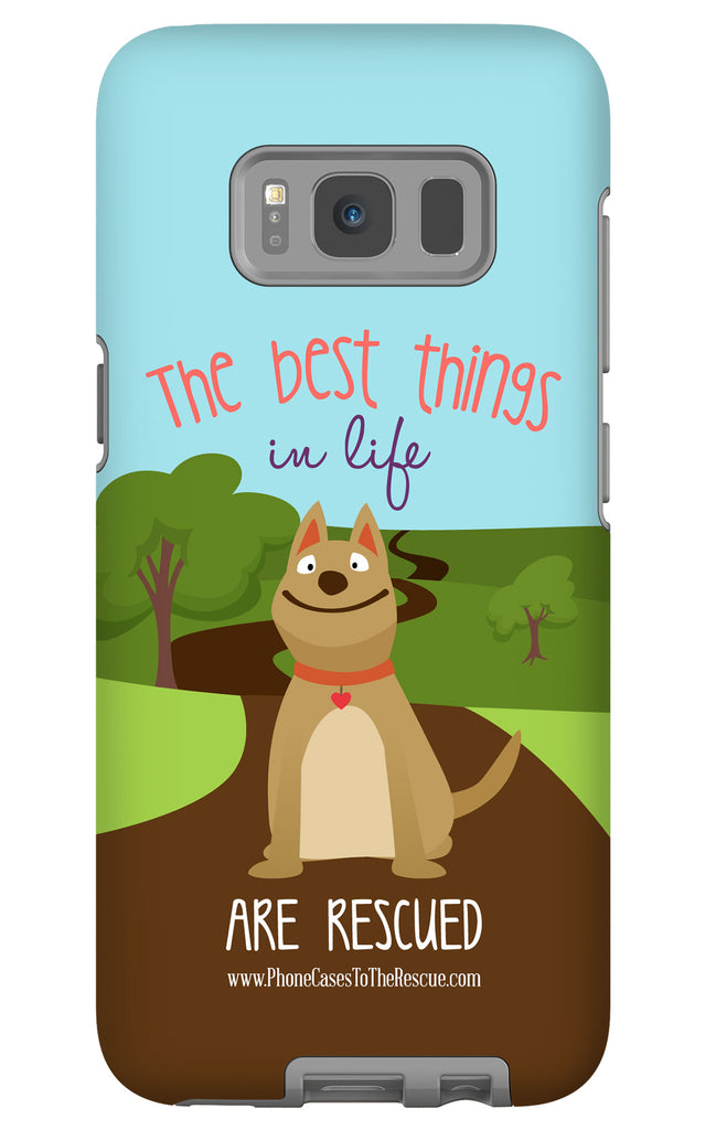 Samsung Galaxy S8 The Best Things in Life Phone Case with Tough Rugged Protection