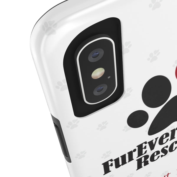 iPhone X FurEver Pawz Rescue Collaboration Phone Case with Tough Rugged Protection
