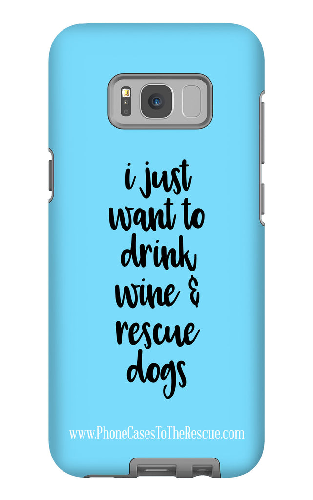 Samsung Galaxy S8 Plus Rescue Dogs Phone Case with Tough Rugged Protection