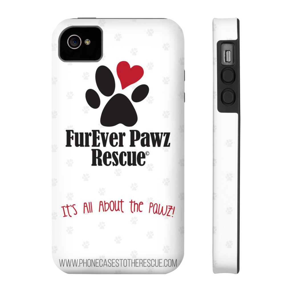 iPhone 4/4s FurEver Pawz Rescue Collaboration Case with Tough Rugged Protection