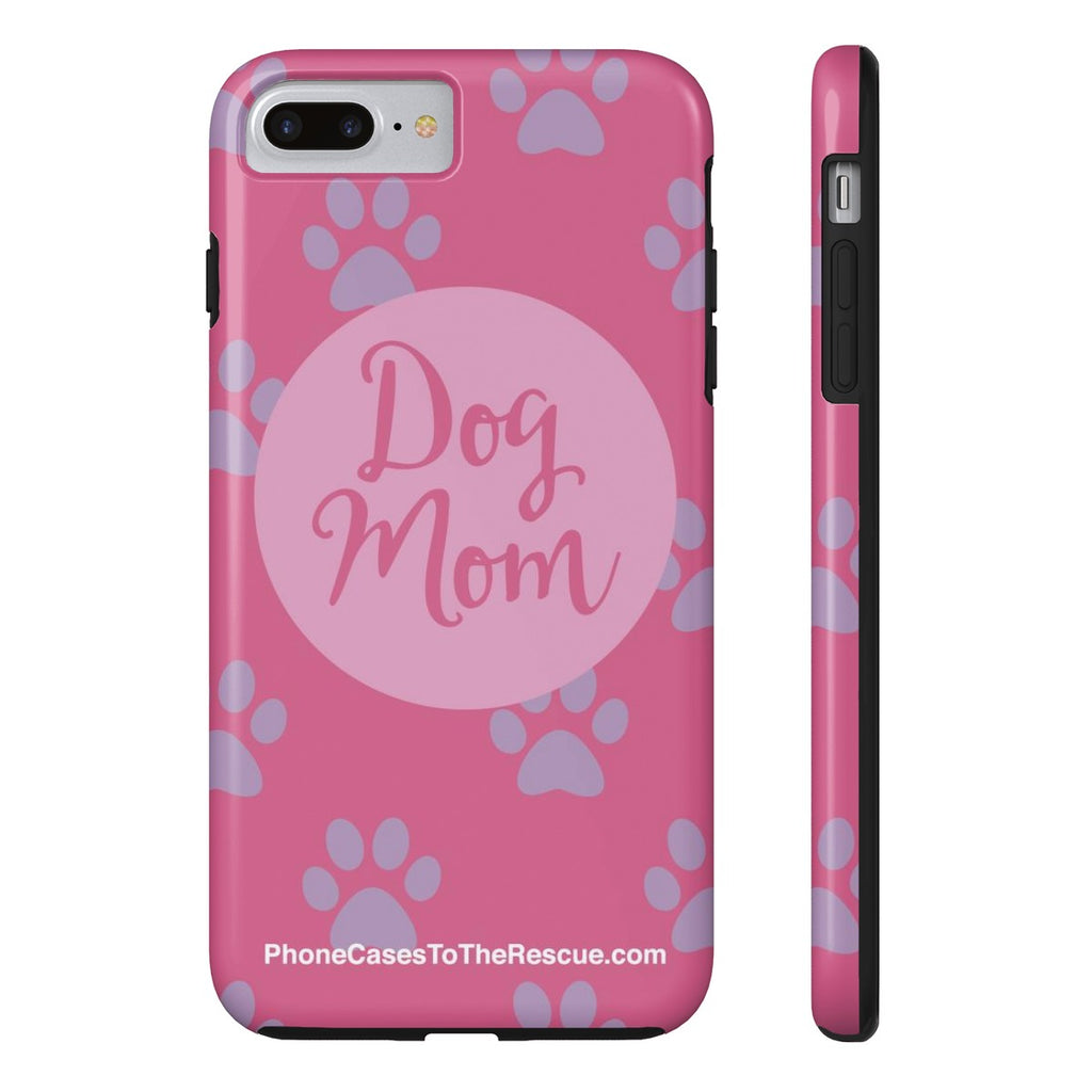 iPhone 7 Plus/8 Plus Dog Mom Phone Case with Tough Rugged Protection