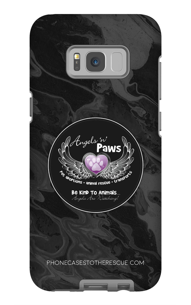 Samsung Galaxy S8 Plus Angels n Paws Collaboration Case with Tough Rugged Protection