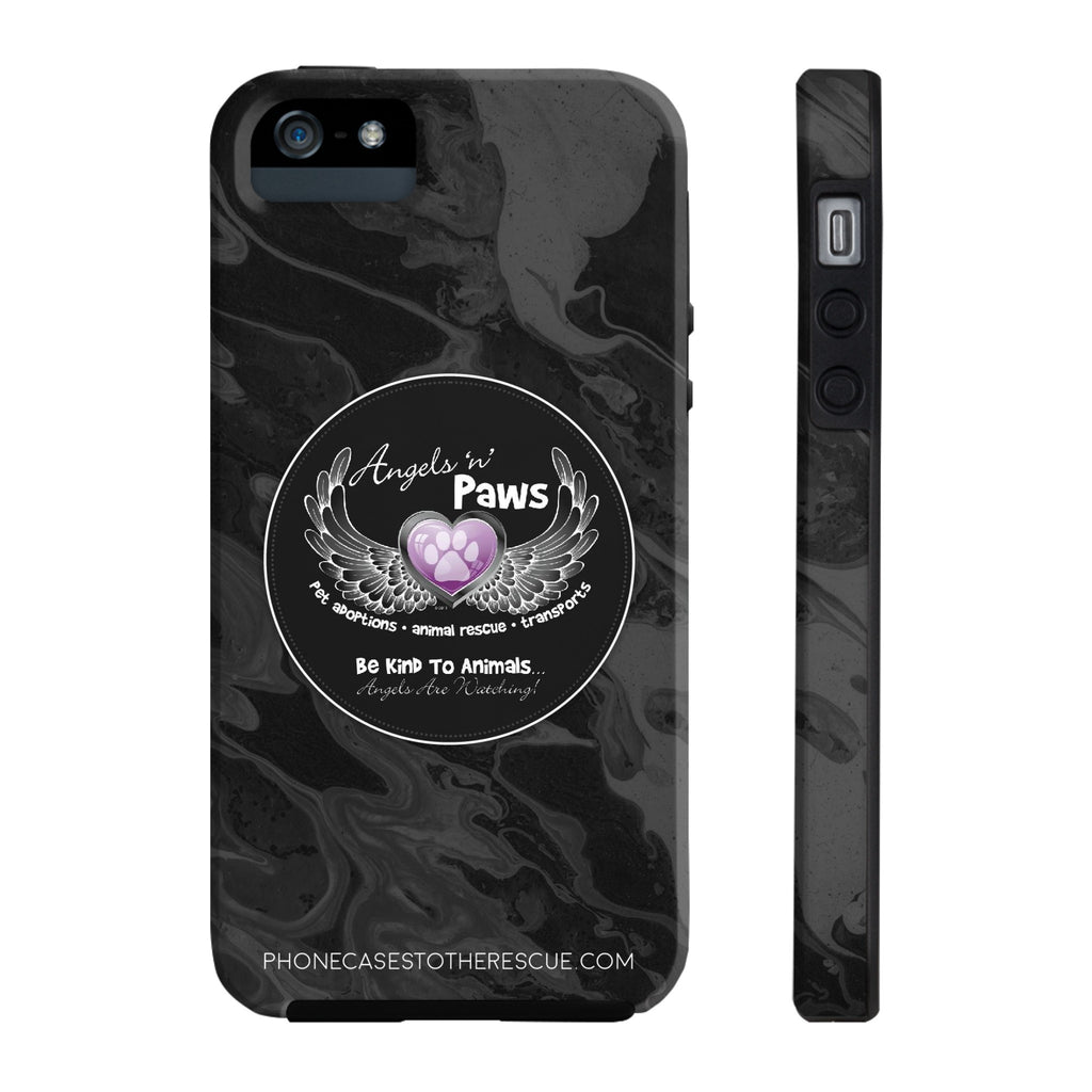 iPhone 5/5s/5se Angels n Paws Collaboration Case with Tough Rugged Protection