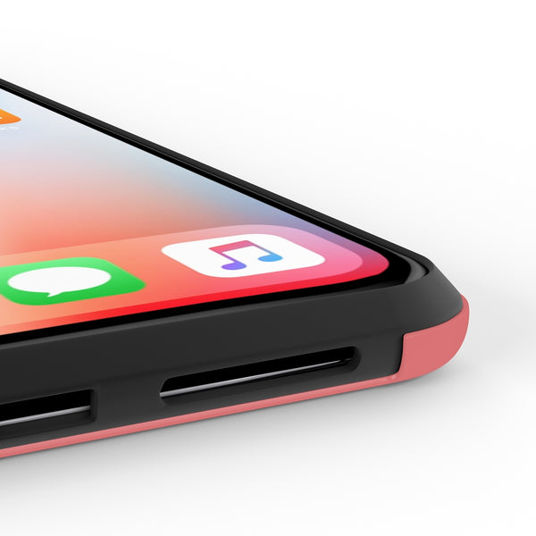 iPhone X Love Starts Phone Case with Tough Rugged Protection