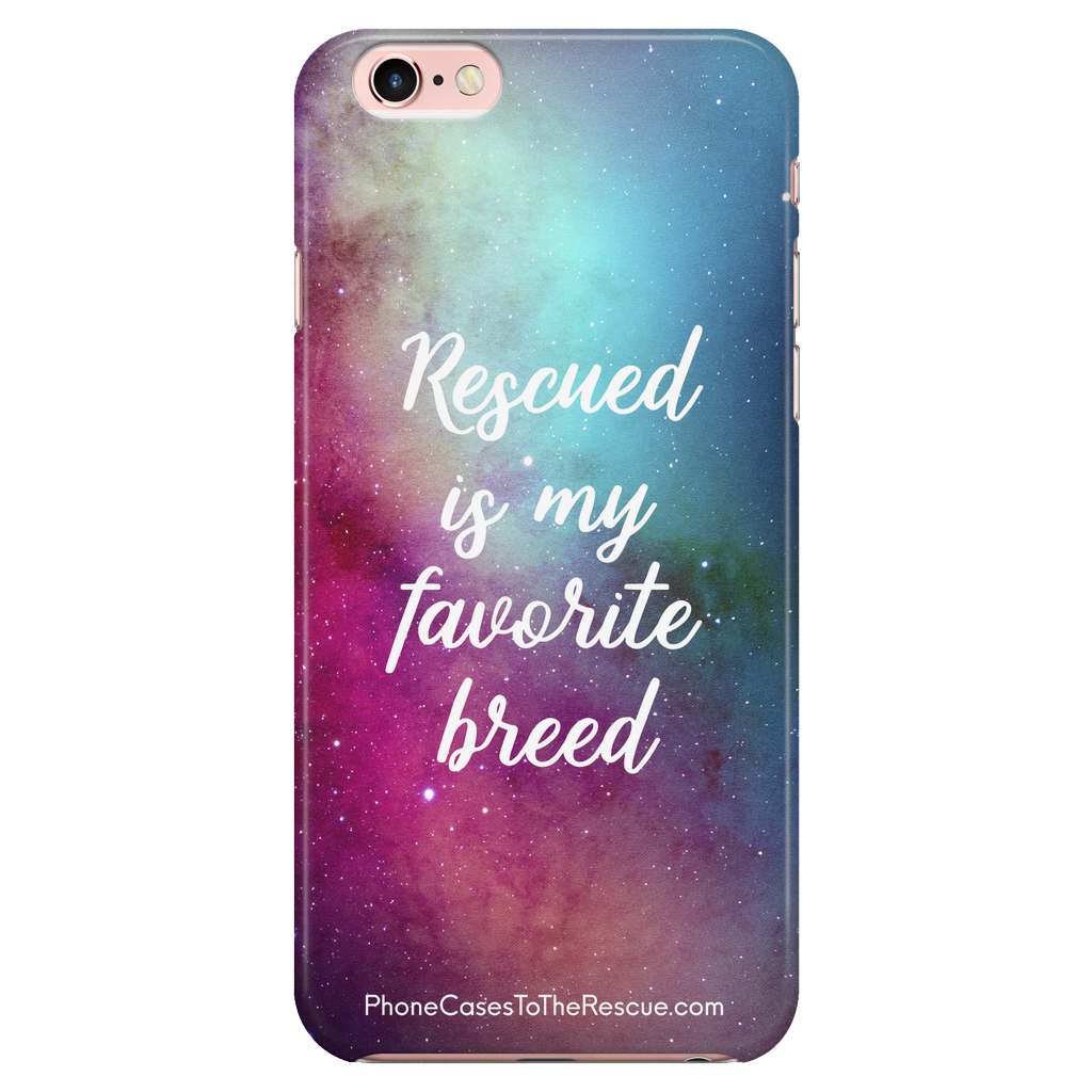 iPhone 7/7s/8 Rescued Is My Favorite Phone Case with Ultra Slim Profile