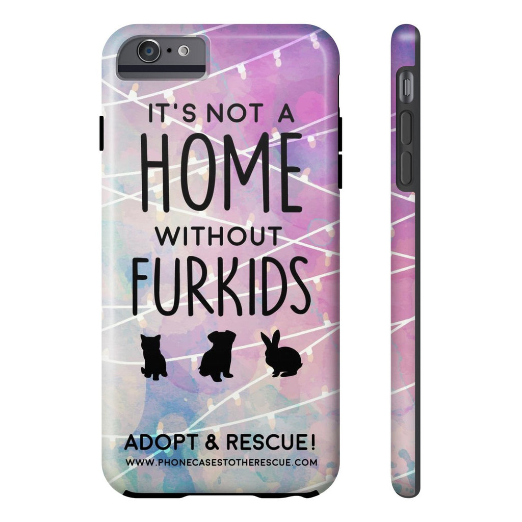 iPhone 6/6s Plus For the Love of Fur Babies Phone Case with Tough Rugged Protection