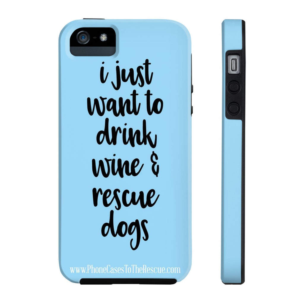 iPhone 5/5s/5se Rescue Dogs Phone Case with Tough Rugged Protection