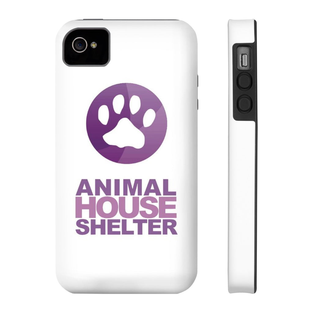 iPhone 4/4s Animal House Shelter Collaboration Case with Tough Rugged Protection