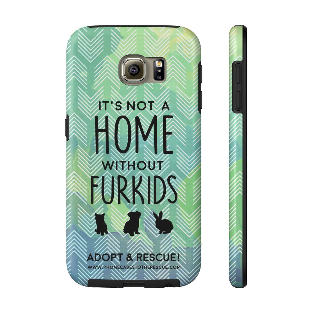 Samsung Galaxy S6 For the Love of Fur Babies Phone Case with Tough Rugged Protection