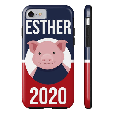 iPhone 7 Esther 2020 Patriotic Phone Case with Tough Rugged Protection