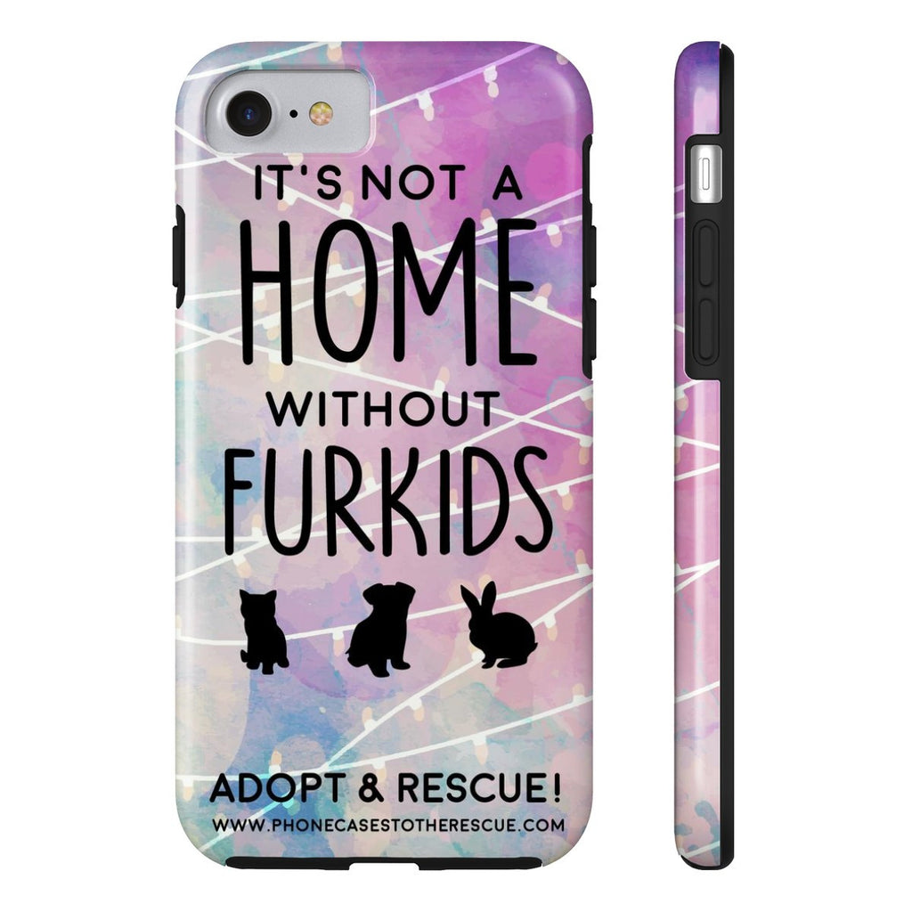 iPhone 7 For the Love of Fur Babies Phone Case with Tough Rugged Protection