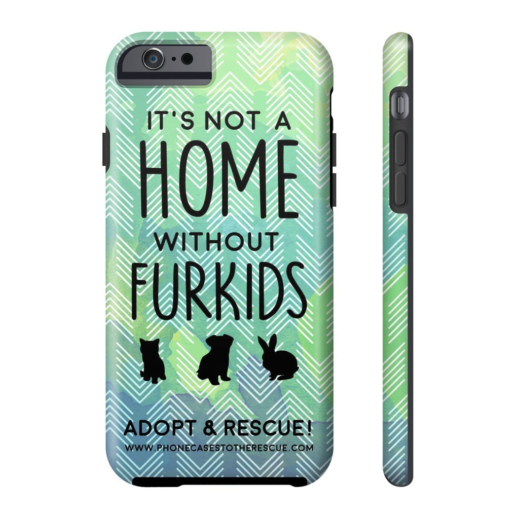iPhone 6/6s For the Love of Fur Babies Phone Case with Tough Rugged Protection